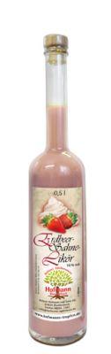 Erdbeer-Sahne-Likör